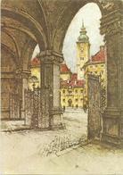 W2510 Wien - Blick Auf Die Schottenkirche - Nach Einer Radierung Von J. Eidenberger / Non Viaggiata - Wien Mitte