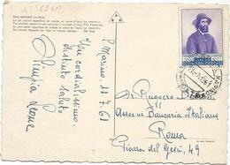 W2511 San Marino - La Passerella - Panorama Della Piccola Torre - Nice Timbres Stamps Francobolli / Viaggiata 1961 - San Marino