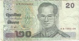 Tailandia - Thailandia 20 Baht 2003 Pk 109 Ref 2 - Tailandia
