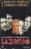 Télécarte Japon / 110-011 - Cinéma Film - L.A. CONFIDENTIAL - Japan Movie Phonecard - Kino Telefonkarte - NFS 11260 - Cinéma