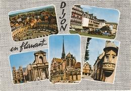 DIJON    -   5 VUES SOUVENIR   -   Edition : La Cigogne De Lyon  N° 21.999.17 - Dijon