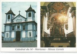 W2517 Catedral Da Sé - Mariana - Minas Gerais / Non Viaggiata - Brasile