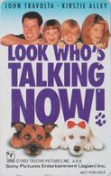 TC Japon / 110-011 - LOOK WHO'S TALKING NOW * JOHN TRAVOLTA * Poodle Dog Chien Caniche - Japan Movie Pc - NFS 11261 - Cinéma