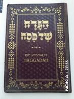 JUDAICA ; DIE PESSACH HAGGADAH BY JOS SCHLESINGER WIEN 1936 - Oude Boeken