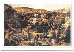 W2520 François Nicolas Chifflart - La Battaglia Di Canne - Dipinto Paint Peinture / Non Viaggiata - Pittura & Quadri