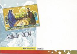 W2522 Tricase (Lecce) - Presepe Presepio Vivente 2004 - Poste Italiane Filatelia / Non Viaggiata - Poste & Postini