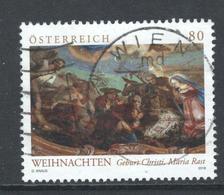 Oostenrijk, Mi 3441 Jaar 2018, Kerstmis,  Gestempeld - 1945-.... 2ème République