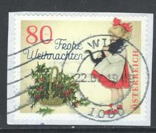 Oostenrijk, Mi 3442 Jaar 2018, Kerstmis,  Gestempeld, Op Papier - 1945-.... 2ème République