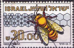 ISRAELE 1983 - APE EUROPEA DEL MIELE - 1 VALORE USATO - Israele