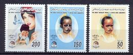 1996 Libye -African Child Day- Complete Set MNH** - Libye