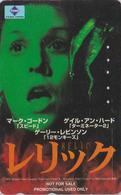 Télécarte Japon / 110-016 - CINEMA FILM - RELIC / Penelope Ann MILLER - Japan Movie Phonecard - Kino TK - NFS 11266 - Cinéma
