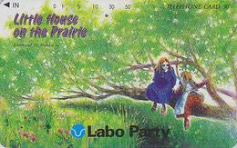 Télécarte Japon / 110-011 - CINEMA FILM - PETITE MAISON LITTLE HOUSE IN THE PRAIRIE - Japan Movie Phonecard - 11268 - Cinéma