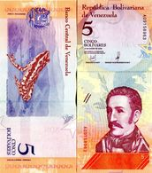 Venezuela - 5 Bolivar 2018  UNC - Venezuela