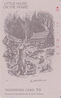 RARE Télécarte Japon / 110-78025 - CINEMA FILM - PETITE MAISON LITTLE HOUSE IN THE PRAIRIE Japan Movie Phonecard - 11269 - Cinéma