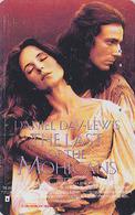 RARE Télécarte Japon / 110-011 - CINEMA FILM - LE DERNIER DES / THE LAST OF THE MOHICANS - Japan Movie Phonecard - 11270 - Cinéma
