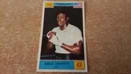 Figurina Panini Campioni Dello Sport 1969 - 358 Emile Griffith - Edizione Italiana