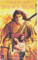 Télécarte Japon / 110-011 - CINEMA FILM - LE DERNIER DES / THE LAST OF THE MOHICANS - Japan Movie Phonecard - NFS 11271 - Cinéma