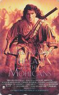 Télécarte Japon / 110-011 - CINEMA FILM - LE DERNIER DES / THE LAST OF THE MOHICANS - Japan Movie Phonecard - 11272 - Cinéma