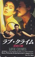 RARE Télécarte Japon / 110-011 - CINEMA FILM - LOVE CRIMES / SEAN YOUNG - Japan Movie Phonecard - NFS 11275 - Cinéma