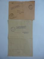 ENVELOPPE LETTRE CENTRE RADIOMARITIME MADRAGUE DE MONTREDON MARSEILLE  FLAMME ,  Cachet à Date  1972 - Marcophilie (Lettres)