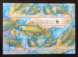 Vanuatu 2013; WWF Animals & Fauna; Marine Life; Fishes; MNH, Neuf** Postfrisch; High Value!! - Vanuatu (1980-...)