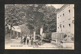 52 - VECQUEVILLE - USINES DE BUSSY - Avenue Des Usines - 1923 ,#52/002 - Other Municipalities