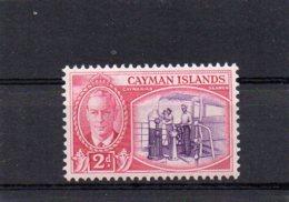 1950 GV1 Definitive Issue 2d MNH - Cayman Islands