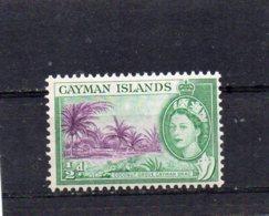 1953 QE11 Definitive Issue 1/2d MNH - Cayman Islands