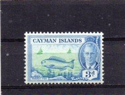 1950 GV1 Definitive Issue 3d MNH - Cayman Islands