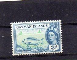 1953 QE11 Definitive Issue 3d MNH - Cayman Islands