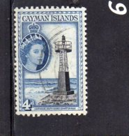 1953 QE11 Definitive Issue 4d Used - Cayman Islands