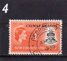 1959 New Constitution 1/- Used - Cayman Islands