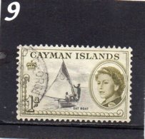 1962 New Issue 1d Used - Cayman Islands