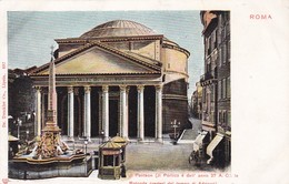 ROMA. PANTEON. DR TRENKLER CO-CPA CIRCA 1900 - BLEUP - Panthéon