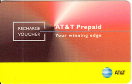 INDIA - Birla AT&T Recharge Card Rs 840, Used - Inde