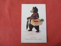 Bear   Saturday  Going To Market   Ref 3286 - Ours