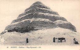 Egypt Sakkaa Step Pyramid - Unclassified