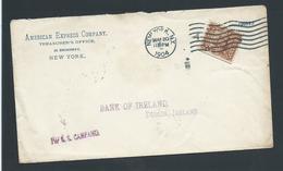 United States US 1904 Paquebot Cover Per SS Campania To Dublin Ireland - Postal History