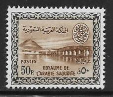 Saudi Arabia Scott # 223 Unused No Gum Wadi Hanifa Dam,,1960, CV$27.50 - Saudi Arabia