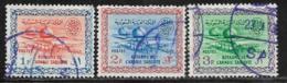 Saudi Arabia Scott # 228-30 Used Gas-Oil Separating Plant,1960-61 - Saudi Arabia
