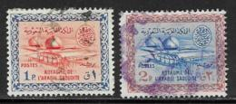 Saudi Arabia Scott # 228-9 Used Gas-Oil Separating Plant,1960-61 - Saudi Arabia