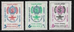 Saudi Arabia Scott # 252-4 MNH Malaria Eradication,1962 - Saudi Arabia