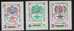 Saudi Arabia Scott # 252-4 Mint Hinged Malaria Eradication,1962 - Saudi Arabia