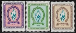 Saudi Arabia Scott # 282-4 MNH Human Rights, 1964 - Saudi Arabia