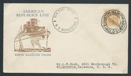Brazil 1940 Ship Mail Cover To Delaware USA Via MS Mormachawk - Brazil