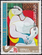 GUINEA ECUATORIAL - YW1026 Pablo Picasso / Used Stamp - Picasso