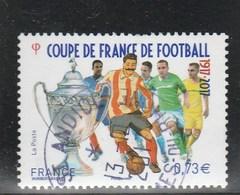 FRANCE 2017 COUPE DE FRANCE DE FOOTBALL  OBLITERE A DATE- YT 5145 - (note) - France