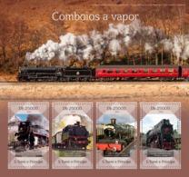 Sao Tome 2014   Steam Trains - Sao Tome And Principe