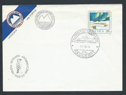 Polish Antarctic Station 1983 Philatelic Cover RV Prof. Siedlicki Paquebot Cds - Unclassified