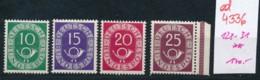 BRD Nr. 128-31    **  (ed4336  ) Siehe Scan - [7] République Fédérale